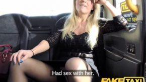 Doamna draguta managerita in club se fute cu un taximetrist