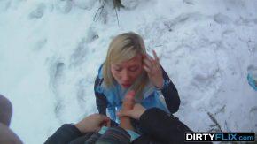 Sex pe partie iarna dupa ce se dau cu placa